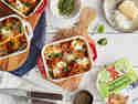 Cannelloni mit vegetarischer Bolognese und Spinat