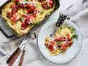 Veggie-Spaghetti mit Fleischbällchen