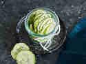 Hausgemachte Zucchini Chips