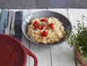 Risotto ohne Rühren Tomaten Thymian