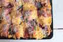 Buchteln mit Kleckseln aus Quark, Sauerkirschen und Mohn © Sommermadame