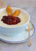 Milchreis mit Zwetschgenkompott © Münchner Küche
