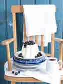 Milchreis-Pudding mit Cassis-Sauce © Meine Küchenschlacht