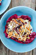 Quinoa Salat Bowl mit Radicchio © Foodistas