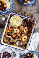 Radicchio-Apfel-Süßkartoffel mit Couscous © Stephanie Just | Meine Küchenschlacht