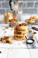 Schoko-Cookies mit Karamell-Popcorn und Salzbrezeln © Stephanie Just | Meine Küchenschlacht