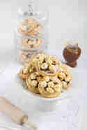 Popcorn-Cookies mit Schokolade und Salzkaramell © Karin Buhl | Lisbeths
