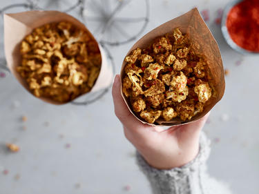 Blumenkohl Popcorn