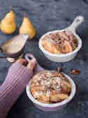 Scheiterhaufen mit Birnen und Marzipansauce © Claudia Lamprecht | What bakes me smile