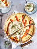 Haselnuss-Möhren-Tarte © Meine Küchenschlacht