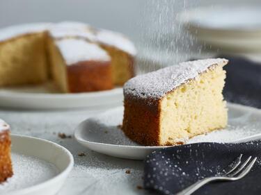 Einfacher Joghurt-Zitronen-Kuchen