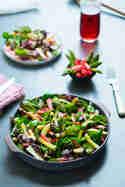 Rhabarber-Spargel-Salat © Sarah Thor | Gaumenpoesie