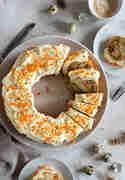 Carrot Cake Kranz © Stephanie Just | Meine Küchenschlacht