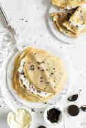 Oreo-Pfannkuchen mit Mascarpone-Sahne-Creme © Stephanie Just | Meine Küchenschlacht