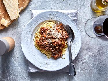 Spaghetti Bolognese selber machen