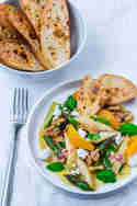Spargesalat mit Orangen-Vinaigrette und Feta © Lars Spickers | Colors of Food