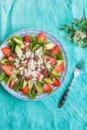 Spargelsalat mit Erdbeeren, Avocado und Pekannüssen © Sabrina Kiefer & Steffen Jost | Feed me up before you go go