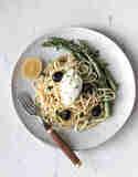 Spargel-Pasta mit Bärlauch und Zitrone © Daniela & Michael Becker | Flowers on my plate