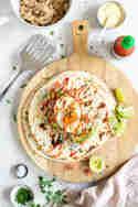 Burrito Asia Style mit Ei und Hühnchen © Stephanie Just | Meine Küchenschlacht