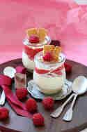 No-Bake-Cheesecake mit Himbeer-Mus © Ina Sommerfeld | Fräulein Sommerfeld