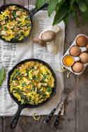 Frittata mit Bärlauch und Pilzen © Vera Wohlleben | Nicest Things