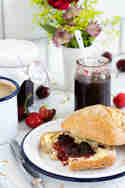 Kirsch-Limetten-Marmelade © Stephanie Just | Meine Küchenschlacht
