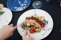 Lachs mit Tomatenkruste & Grillgemüse © Catrin Neumayer | Cooking Catrin