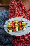Zucchini-Feta-Spieße © Tina Kollmann | Lecker und Co.