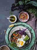Fit Food Quinoa Bowl mit Ei © Simone Filipowsky | S-Küche