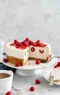 Vanille-Himbeer-Cheesecake © Stephanie Just | Meine Küchenschlacht