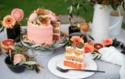Ombrè Pfirsich Torte © Catrin Neumayer | Cooking Catrin