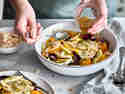 Fenchelsalat mit bunten Möhren