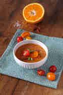 Fruchtige Gazpacho mit Goji-Beeren und Orange © Michaela Harfst | Transglobalpanparty