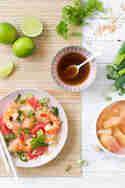 Pomelo Salat mit Garnelen © Vera Wohlleben | Nicest Things