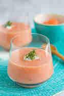 Melonen-Gazpacho mit Estragon und Kresse © Sabrina Kiefer & Steffen Jost | Feed me up before you go go