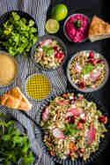 Couscous-Salat mit Kirschen und Feta © Foodistas