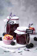 Brombeer Lavendel Marmelade © Vera Wohlleben | Nicest Things