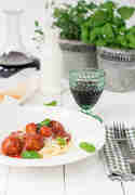 Spaghetti Polpette © Foodistas