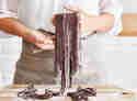 Pasta zum Dessert: Süße Schokoladen-Nudeln