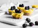 Mango-Cupcakes mit Kurkuma