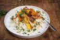 Sellerie Salat mit Gemüsechips © Catrin Neumayer | Cooking Catrin