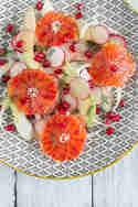 Fenchel-Blutorangen-Salat mit Avocado, Granatapfel und Dill © Sabrina Kiefer & Steffen Jost   Feed me up before you go-go