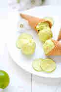 Key Lime Pie Ice Cream © Foodistas