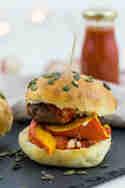 Kürbis-Burger © Jennifer Stein | Tulpentag