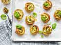 Pesto-Schnecken mit Zucchini