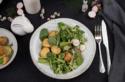 Frühlingssalat mit Röstkartoffeln © KCatrin Neumayer | Cooking Catrin