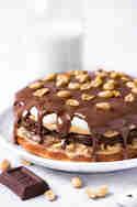 Protein Torte ohne Mehl mit Erdnüssen & Karamell © Vera Wohlleben | nicest things