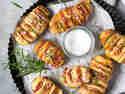 Hasselback Kartoffeln mit Grana Padano und Prosciutto © Vera Wohlleben | nicest things