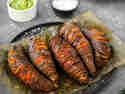 Gebackener Rosenkohl mit Fächersüßkartoffeln & selbstgemachter Remoulade © Joana Sonnhoff | Foodreich