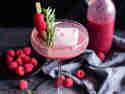 Granatapfel-Himbeer Cocktail © Patricia Schillaci | Veganstars